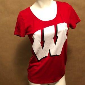 PINK Victoria's secret Wisconsin T-shirt